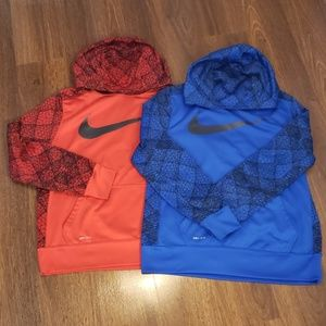 Nike 2-for-1 boy dry-fit hoodies (Sz Youth XL)